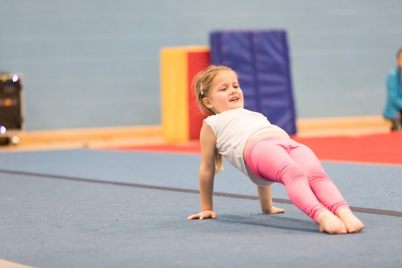 how can your child get the results of a champion gymnast