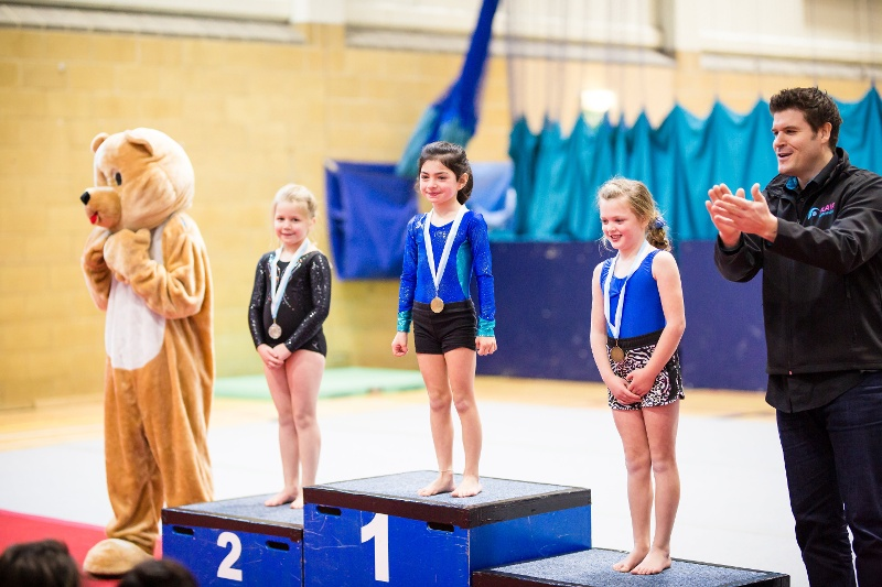 Richard Dwyer (Flair Founder & CEO) presents medals at the Flair Championships