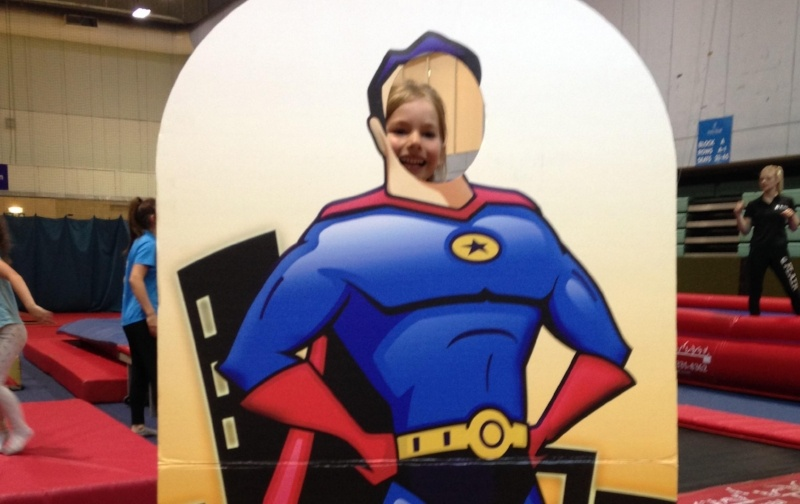 a day in the life of a superhero at summer tumble camp