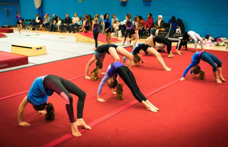 Celebrating your child's success at celebrations class at your surrey gymnastics club