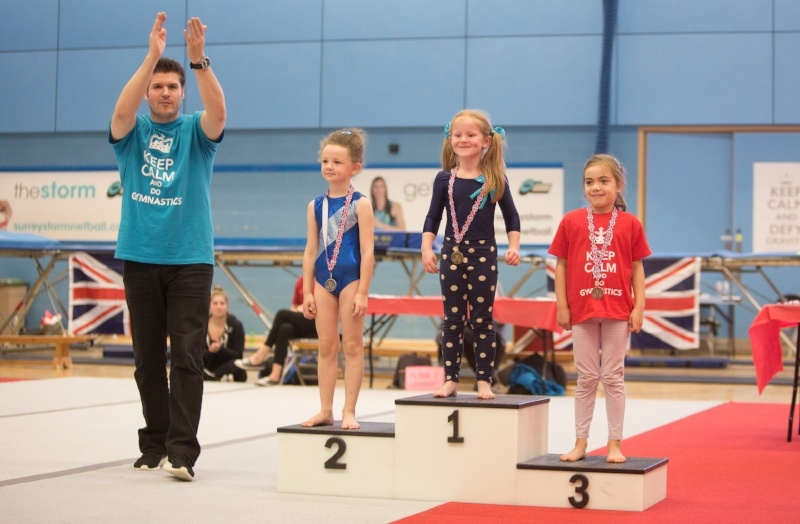 Are gymnastics competitions healthy for your child