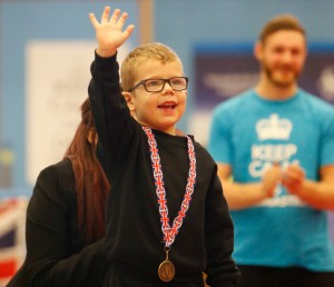 Are gymnastics competitions healthy for children